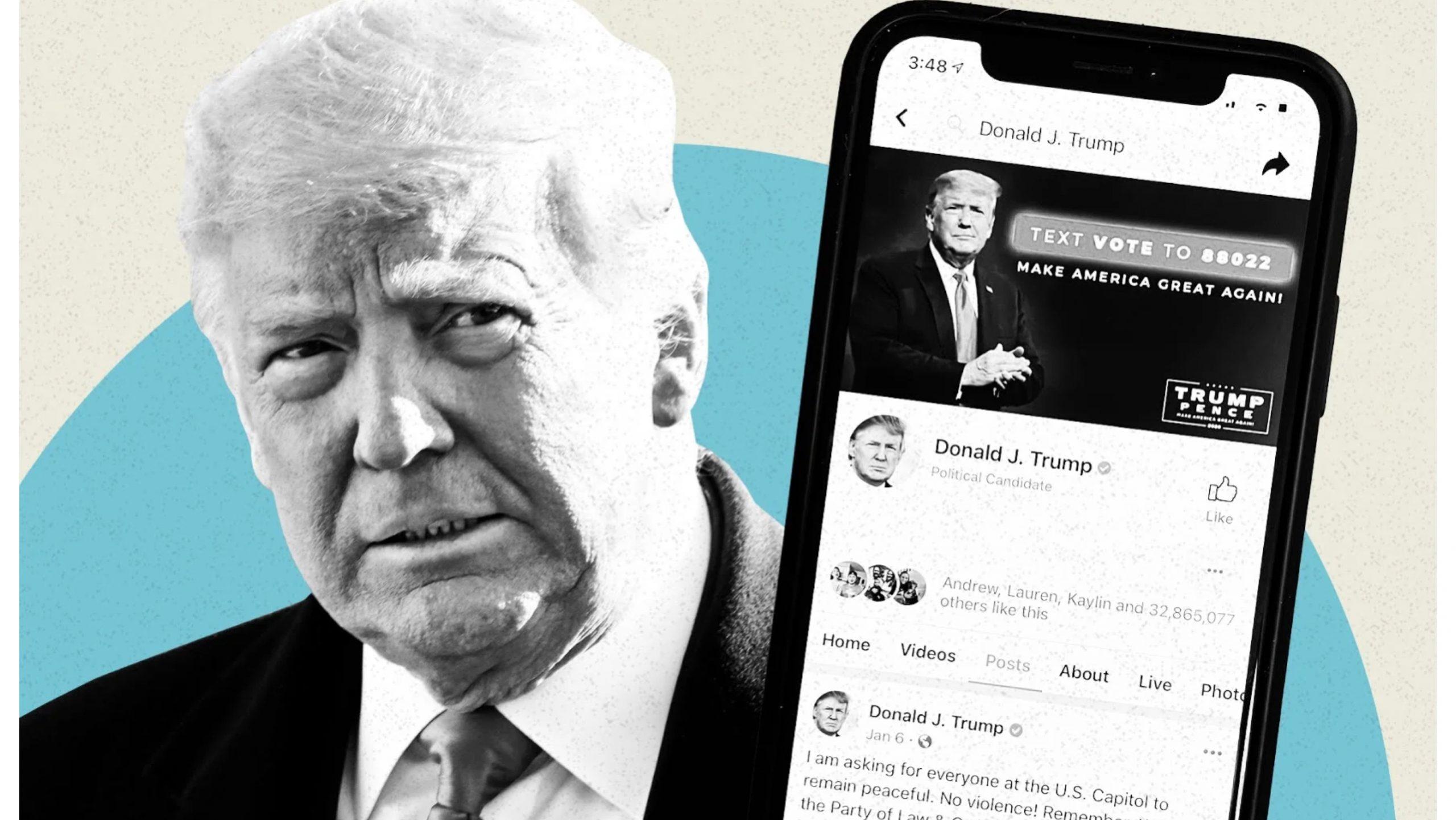 पुर्व राष्ट्रपति डोनाल्ड ट्रम्पको प्रतिबन्धीत फेसबुक अकाउन्टको फैसला बुधबार